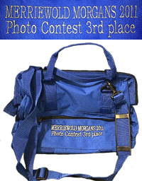 3rd Place prize is a grooming tote